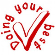 MERIT STAMPERS - DOING YOUR BEST - ST1245