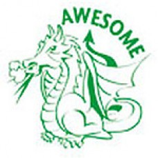 MERIT STAMPERS - AWESOME DRAGON - ST1255