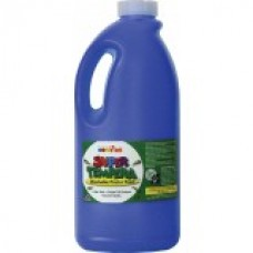 FAS SUPER TEMPERA POSTER PAINT - 2 LTR - BLUE