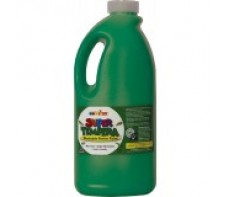 FAS SUPER TEMPERA POSTER PAINT - 2 LTR - GREEN