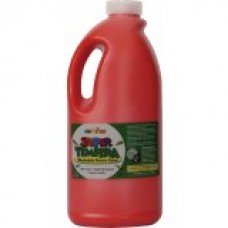 FAS SUPER TEMPERA POSTER PAINT - 2 LTR - BRILLIANT RED