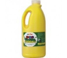 FAS SUPER TEMPERA POSTER PAINT - 2 LTR - YELLOW
