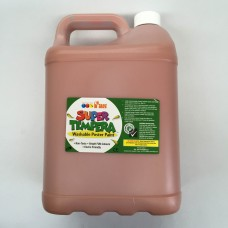FAS SUPER TEMPERA PAINT - 5 LITRE - OUTBACK RED/BT SIENNA