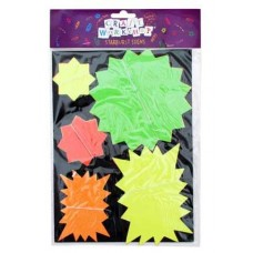 STARBURST SIGNS NEON 20 PIECE ASSORTED