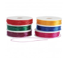 STRETCH MAGIC BEADING CORD ASST SET 6 ( 54 METRES)