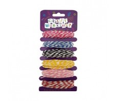 CRAFT STRING COLOURED STRIPED 6 X 5 METRES