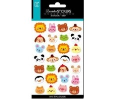 STICKERS SMILEY ANIMALS