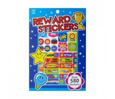 STICKERS REWARD STICKER PAD STARS 580'S