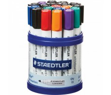 STAEDTLER BULLET WHITEBOARD TUB 19 ASSORTED