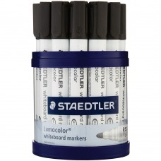 STAEDTLER BULLET WHITEBOARD TUB 19 BLACK