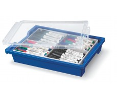 STAEDTLER COMPACT WHITEBOARD MARKERS TOTE 144 ASSORTED