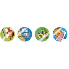 Metallic Stickers - Bugs and Birds Reading MT303
