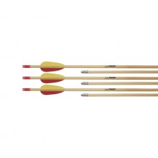 ARCHERY ARROWS WOODEN TARGET - 27""