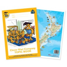 CLEVER KIWI - TOPIC BOOK