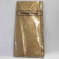 METALLIC TISSUE PAPER - 8 SHEETS - GOLD