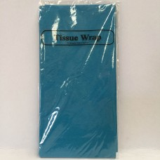 TISSUE PAPER - 8 SHEETS - TURQUOISE