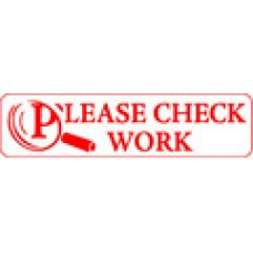 TEACHERS STAMPS - PLEASE CHECK WORK - TS2357