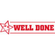 TEACHERS STAMPS - WELL DONE - TS2358
