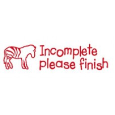 TEACHERS STAMPS - INCOMPLETE PLEASE FINISH - TS2363