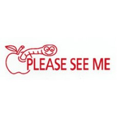 TEACHERS STAMPS - PLEASE SEE ME - TS2366