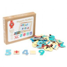 WOODEN MAGNETIC NUMBERS PACK 60