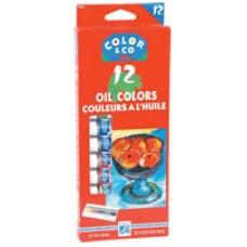 COLOR & CO - OIL PAINTS - SET 12 - ASSORTED