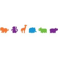 FOAM FIGURE SHAPES - MIXED ANIMALS