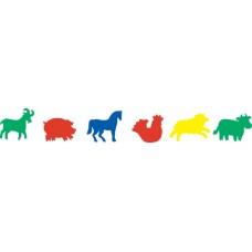 FOAM FIGURE SHAPES - FARM ANIMALS