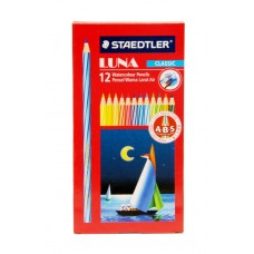 STAEDTLER AQUARELL WATERCOLOUR PENCILS - BOX 12