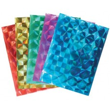 CHEQUERED PRISM PAPER A4 40S ASSORTED