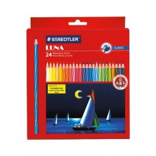 STAEDTLER AQUARELL WATERCOLOUR PENCILS - BOX 24