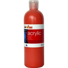 Student Acrylic Fas 1 Litre Cool Red