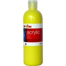 Student Acrylic Fas 1 Litre Cool Yellow