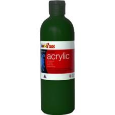 Student Acrylic Fas 1 Litre Green Dark