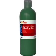 Student Acrylic Fas 1 Litre Green Deep