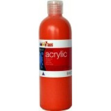 Student Acrylic 1 Litre Warm Red