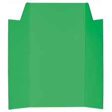 CARDBOARD DISPLAY BOARD - GREEN - 1020 X 875MM