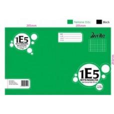 1E5 - QUAD BOOK - 7MM - WITH MARGIN