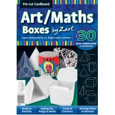 CARDBOARD - ART / MATHS BOXES - PKT 30 - ASST