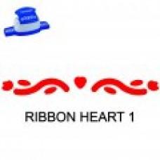 BORDER PUNCH - RIBBON HEART 1 - CP16L