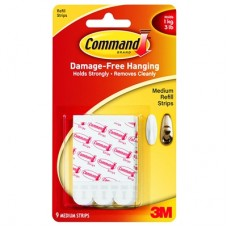 COMMAND STRIPS - MEDIUM - REFILL