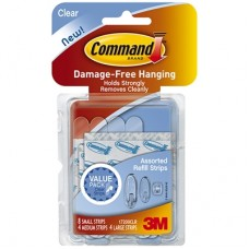 COMMAND STRIPS - VALUE PACK