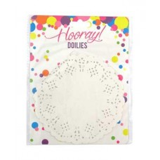 DOILIES - WHITE PAPER - SMALL - 24'S - (14CM)