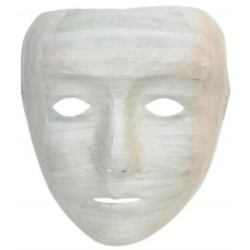 Full Face Mask Singles Papier Mache