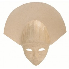 HEAD DRESS MASK PAPIER MACHE