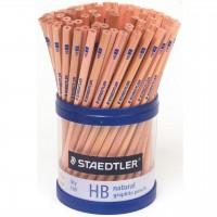 STAEDTLER HB/2B PENCIL NATURAL ( TUB OF 100 )