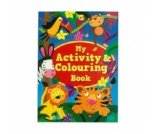 MY ACTIVITY COLOURING BOOK