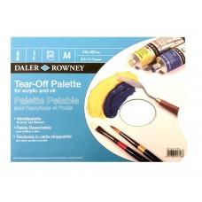 DALER ROWNEY TEAR OFF PALETTES - A4