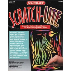 SCRATCH LITE STAINED GLASS ACETATE